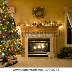 Beautiful Living Rooms At Christmas Blue Moroccan Style Room Decorated Stock Photo Edit Now A For
