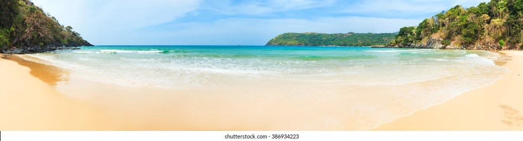 panoramic view beach images