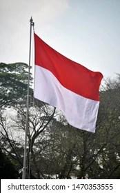 Bendera Indonesia Art : bendera, indonesia, Berkibar, Bendera, Stock, Images, Shutterstock