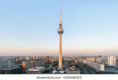 alexanderplatz tower images stock