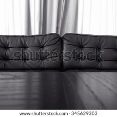 Curtains To Go With Black Leather Sofa Bed Bath And Beyond Covers Curtain Background Stock Photo Edit Now