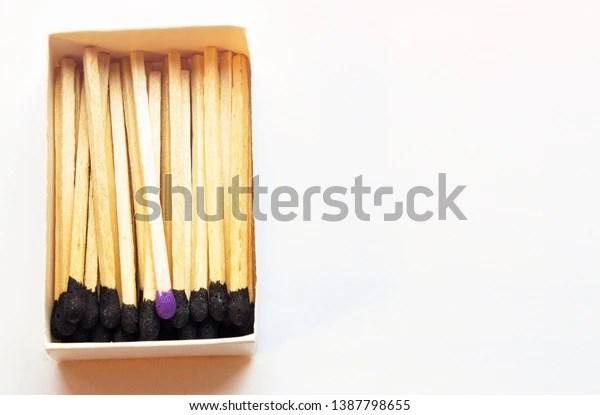black matches one match