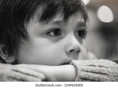 sad boy images stock