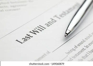 Last Will And Testament Images, Stock Photos & Vectors | Shutterstock