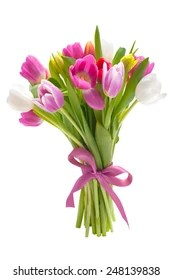 tulip bouquet images stock