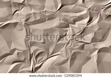 brown crinkle paper pattern