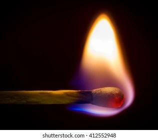burning match images stock