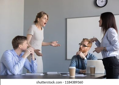 Image result for bully business woman