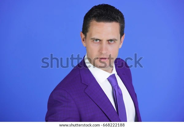 businessman successful boss fashionable