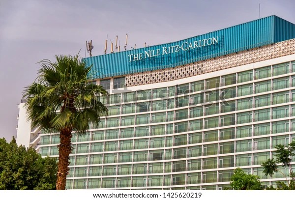 Cairo Egypt May 25th 2019 Ritzcarlton Stock Photo Edit Now