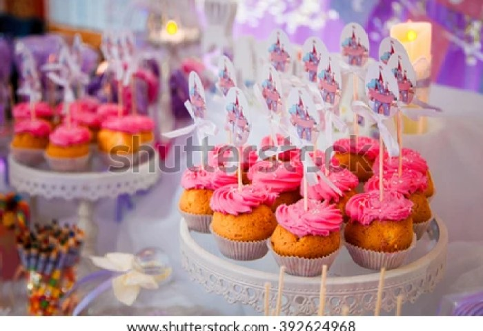Candy Bar Kids Birthday Party Sweet Holiday Stock Photo Edit Now