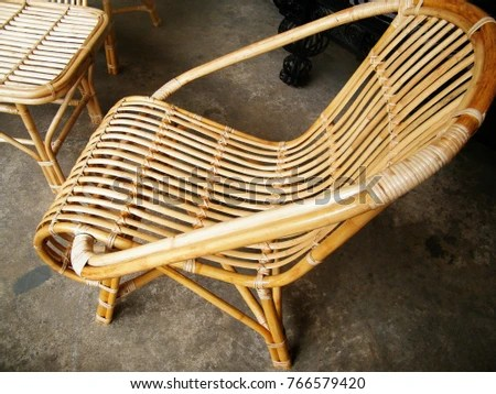 rocking chair cane ergonomic design dimensions on white balcony stock photo edit at the rattan chairs wooden wicker industry in sri lanka