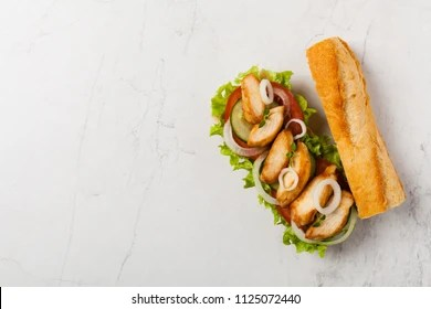 subway sandwich images stock