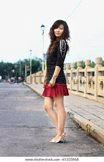 chinese girl wearing short