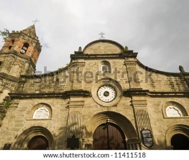 Church Of Barasoain In Bulacan North Of Manila Philippines