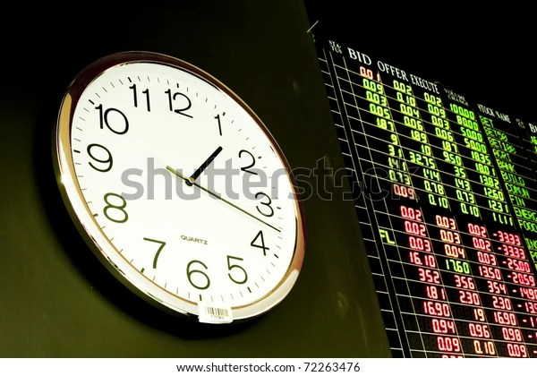 clock stock market stock