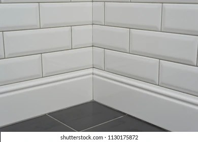 https www shutterstock com image photo close corner covered white decorative tiles 1130175872