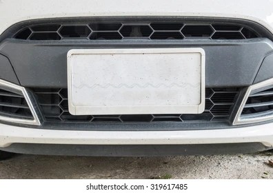 license plate images stock