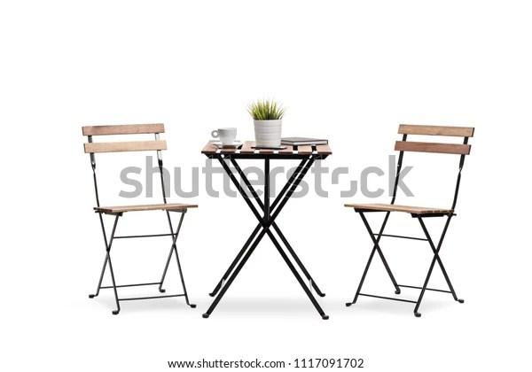https www shutterstock com image photo coffee table two chairs isolated on 1117091702