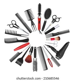 hair cut images stock