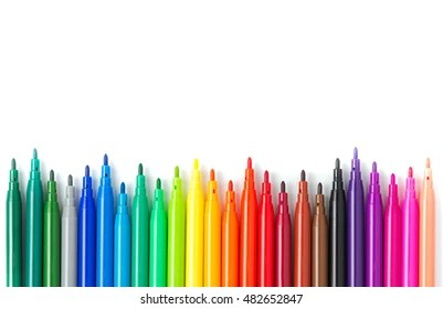 coloring pen images stock