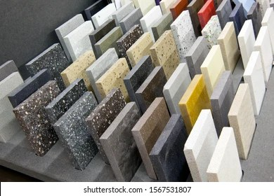 https www shutterstock com image photo colorful samples stone tile store marble 1567531807