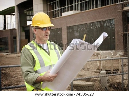 Construction Foreman On Job Site Stock Photo (Edit Now) 94505629 - Shutterstock
