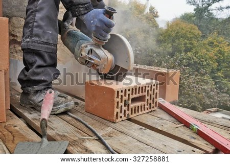 How To Cut Concrete Blocks On An Angle