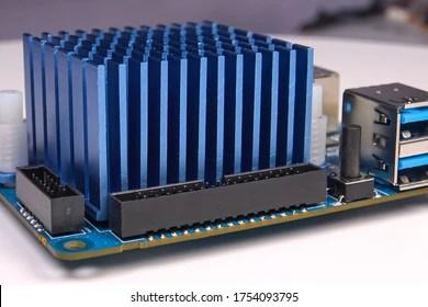https www shutterstock com image photo cooling radiator mini computer board electronics 1754093795