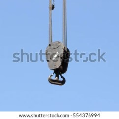 Fishing Chair Crane Swivel Hong Kong Cranes Hooks Hanging On Steel Ropes Stock Photo Edit Now 554376994 Isolated Blue Sky Background