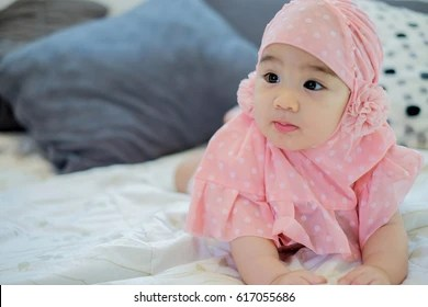 muslim baby images stock