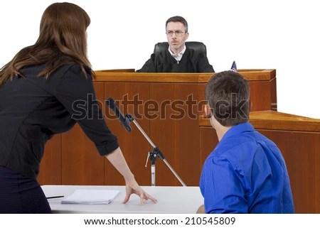 Defendant Lawyer Speaking Judge Courtroom Stock Photo (Edit Now) 210545809 - Shutterstock