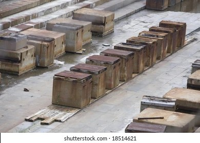 Wooden Keel Blocks