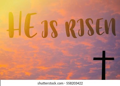 christian easter images stock