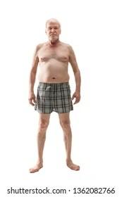 Old Man In Underwear Meme : underwear, Shirtless, Images,, Stock, Photos, Vectors, Shutterstock