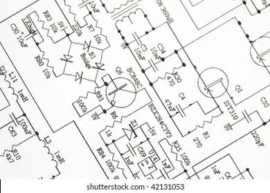 Circuit Diagram Symbols Images, Stock Photos & Vectors