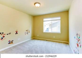 Empty Kids Room Images Stock Photos & Vectors Shutterstock