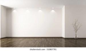 empty interior background 3d glass rendering shutterstock modern wall vase branch