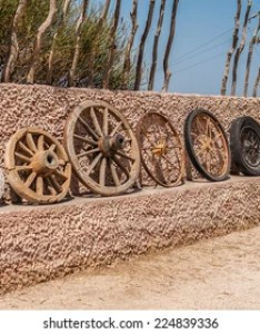 The evolution of wheel starting from  stone and ending with steel also invention images stock photos  vectors shutterstock rh