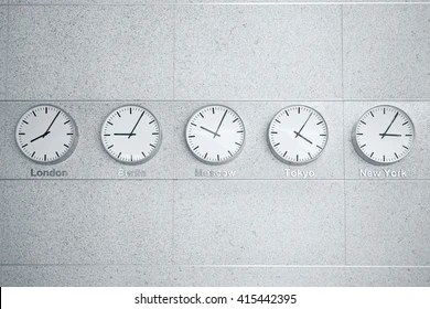 time zone clocks images