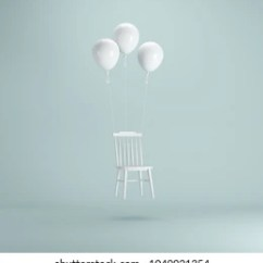 Chair With Balloons Arm Covers Nz Balloon Images Stock Photos Vectors Shutterstock Floating White On Pastel Green Background Minimal Idea Concept