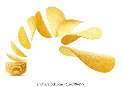 snack lays images stock