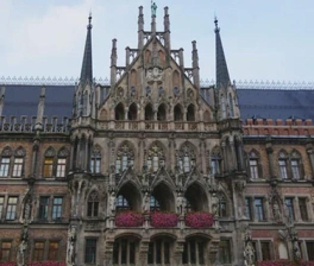 Germany Munich Oct Th  New Town Hall Building On Marienplatz