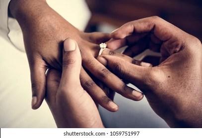 Image result for Black weddings rings hands