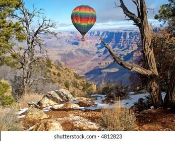 hot air balloon grand canyon # 51