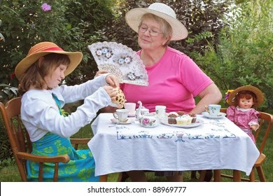 tea party table images