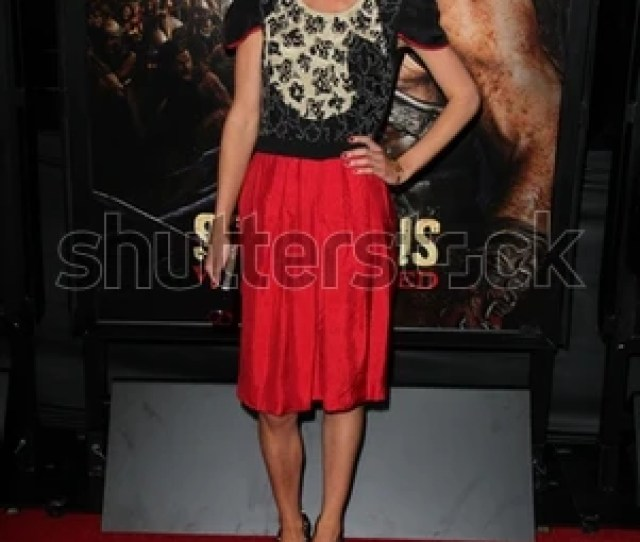 Gwendoline Taylor At The Spartacus War Of The Damned Los Angeles Premiere