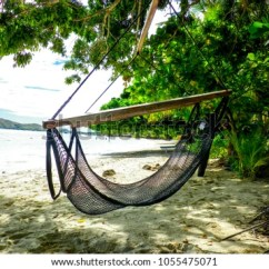 Hanging Chair Tree Old Lady Hammock Palm Paradise Stock Photo Edit Now From A In