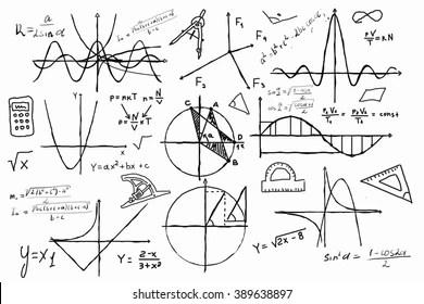 Mathematics Formula Images, Stock Photos & Vectors