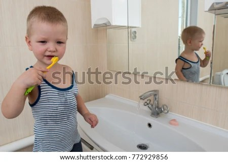 kitchen sink baby bath tub nook sets with storage happy boy taking stock photo edit now 772929856 in child playing foam and soap bubbles